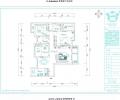【宝蓝空间设计】长航蓝晶国际-126平-装修案例分享