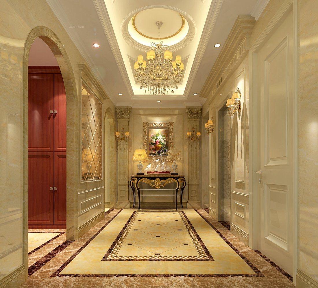 北京别墅装修远洋天著新古典风格案例欣赏