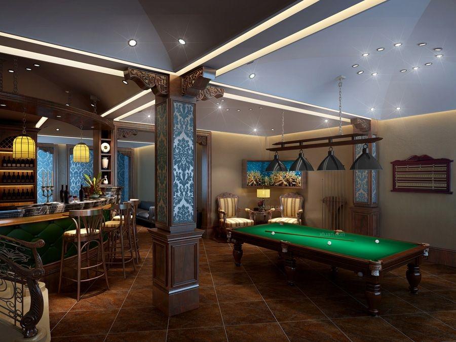 别墅美式风格客厅沙发背景墙_绿地乔治庄园别墅装修图