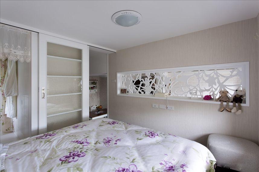 一居室乡村风格卧室