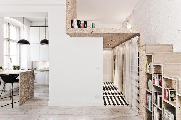 一居室现代简约书房