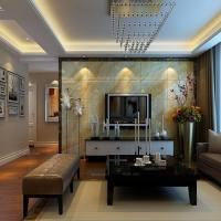 现代简约-123平米三居室装修设计