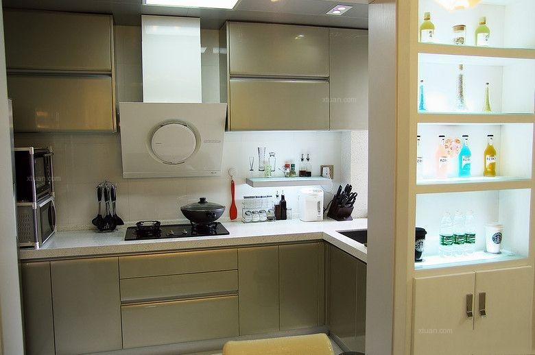 两居室现代风格厨房厨具