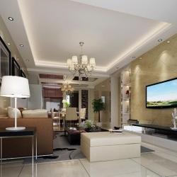 汇景新城-现代风格-二室二厅
