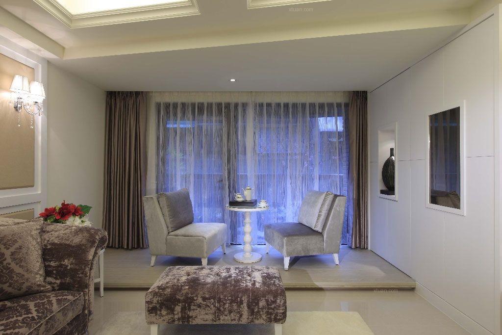 双鸽春江苑两居室设计
