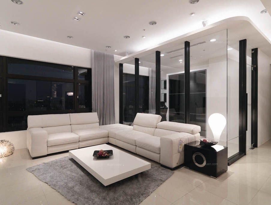 一居室简约风格客厅
