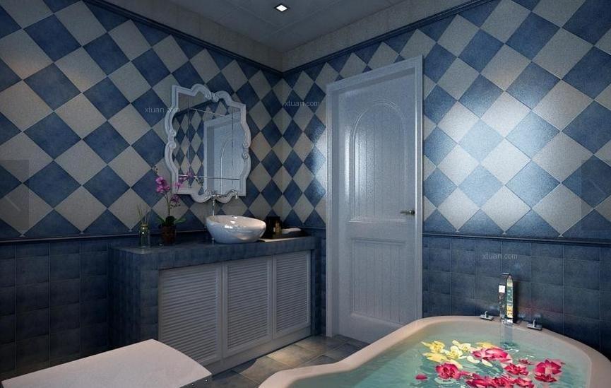 三室两厅地中海风格卫生间