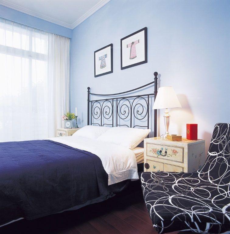 两居室乡村风格卧室