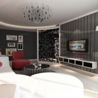 现代风格-117平米三室两厅