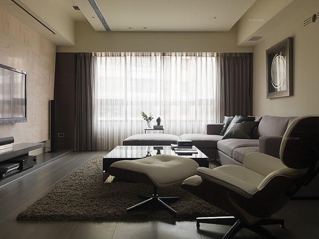 两居室客厅