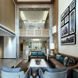 武汉别墅装修纳帕溪谷方案现代风格方案展示