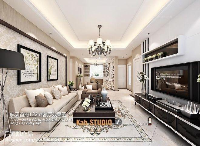 小户型欧式风格客厅