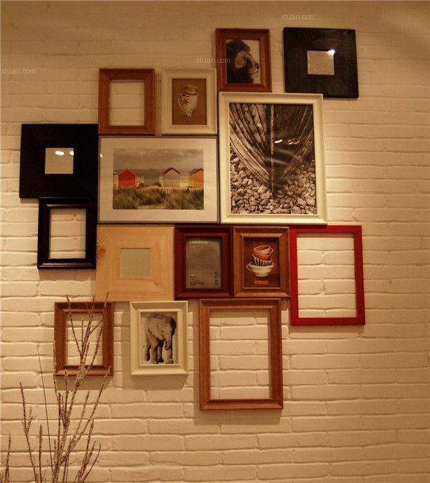 一居室客厅照片墙