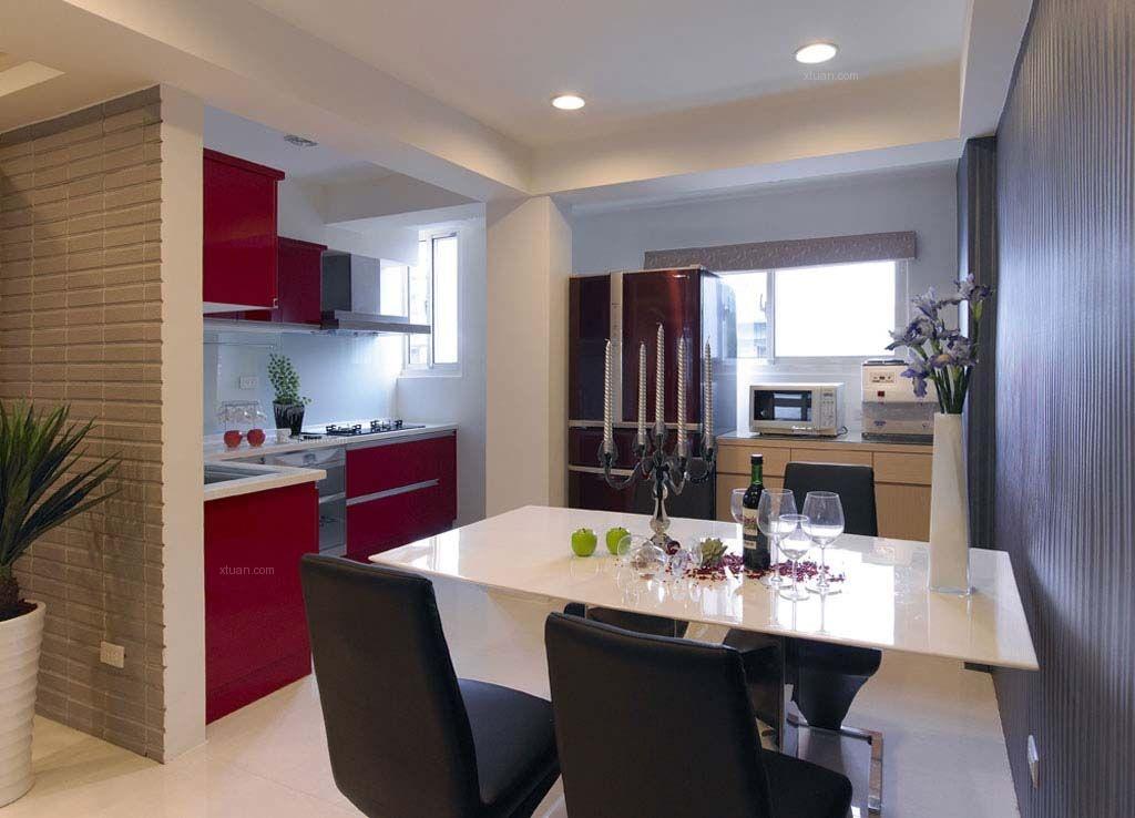 两居室简约风格餐厅