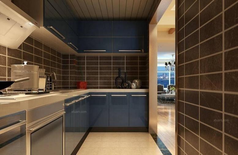 别墅简欧风格厨房