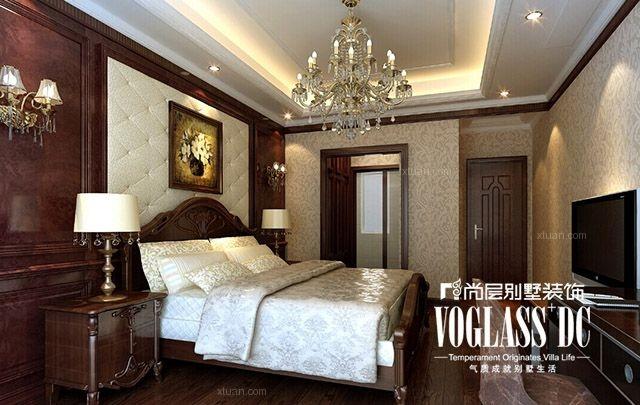 两室两厅中式风格卧室