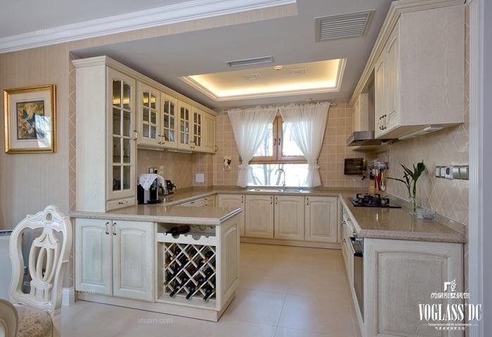 别墅法式风格厨房