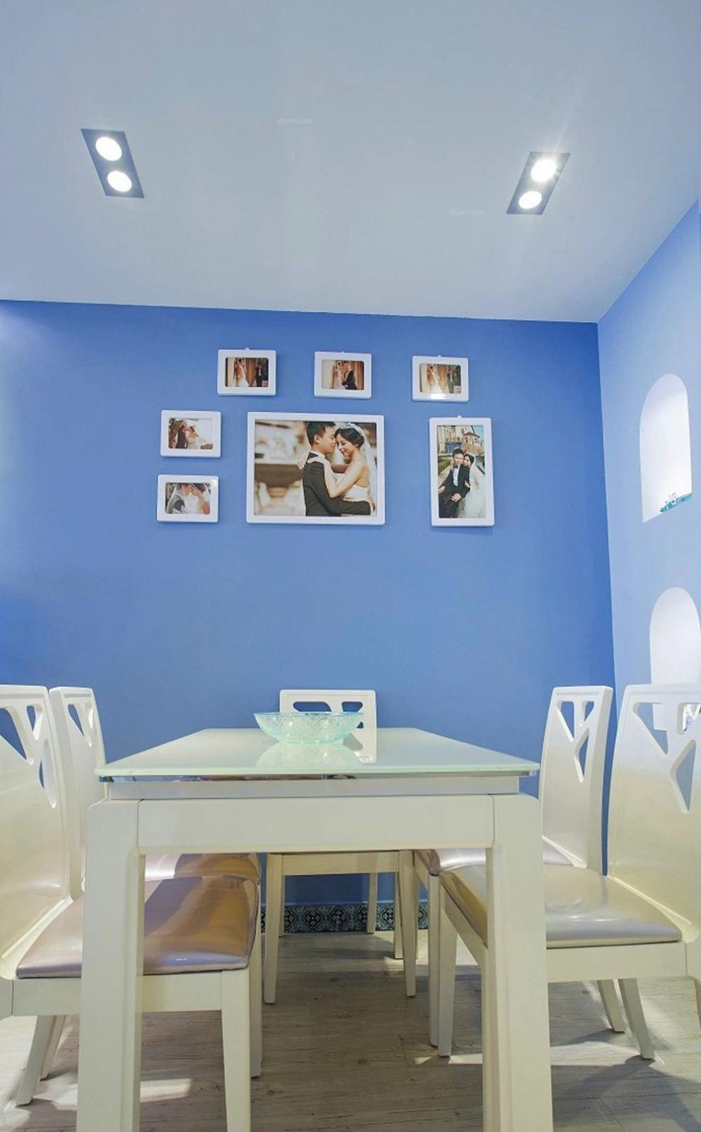 两室两厅地中海风格餐厅