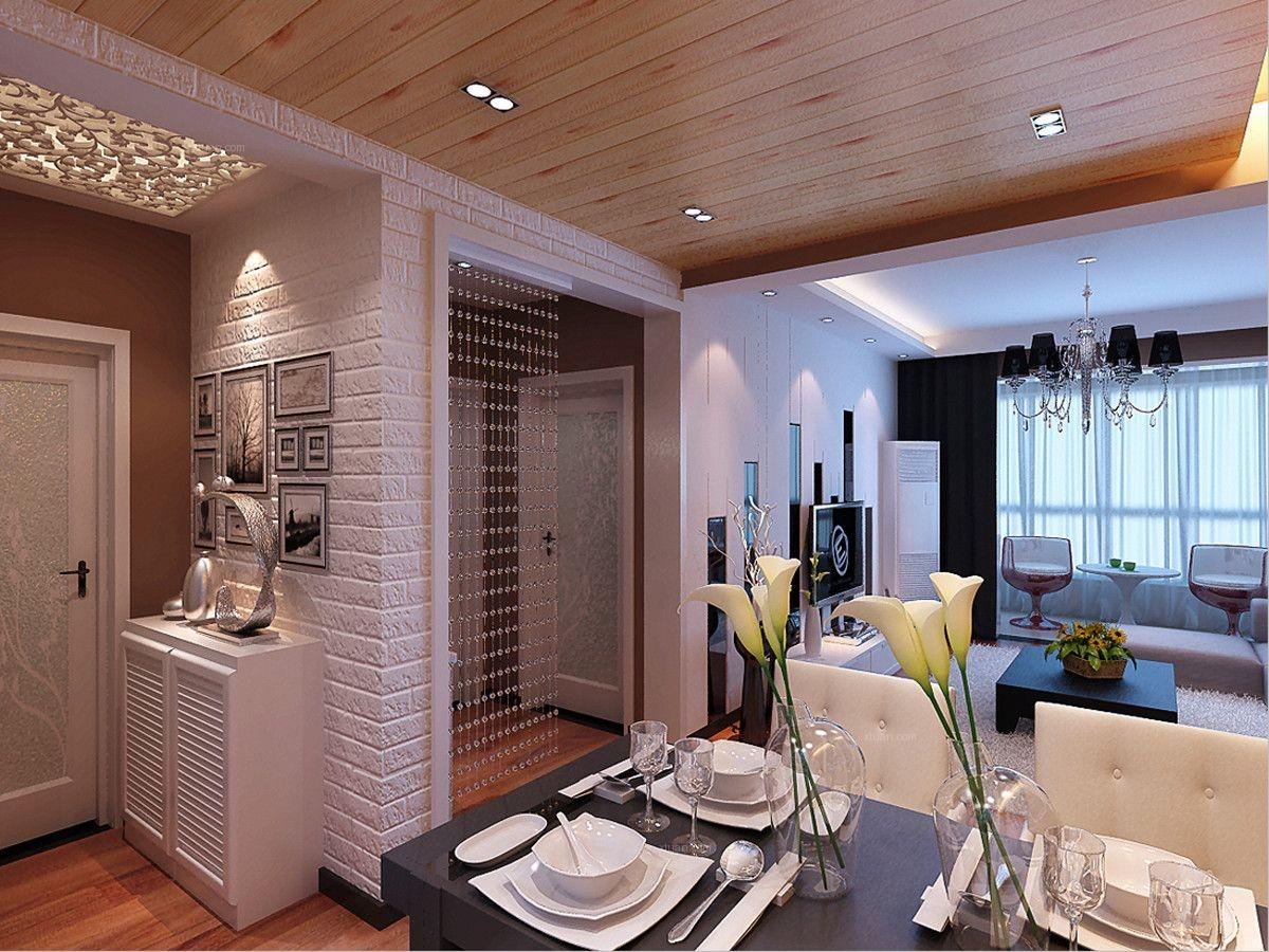 两室两厅简约风格餐厅软装