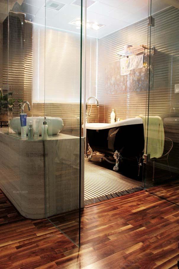 两居室现代简约卫生间