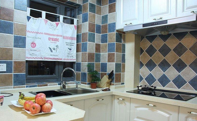 两居室地中海风格厨房