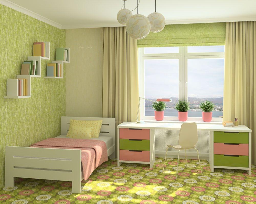 学生单人床设计