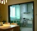 厨房玻璃推拉门图片