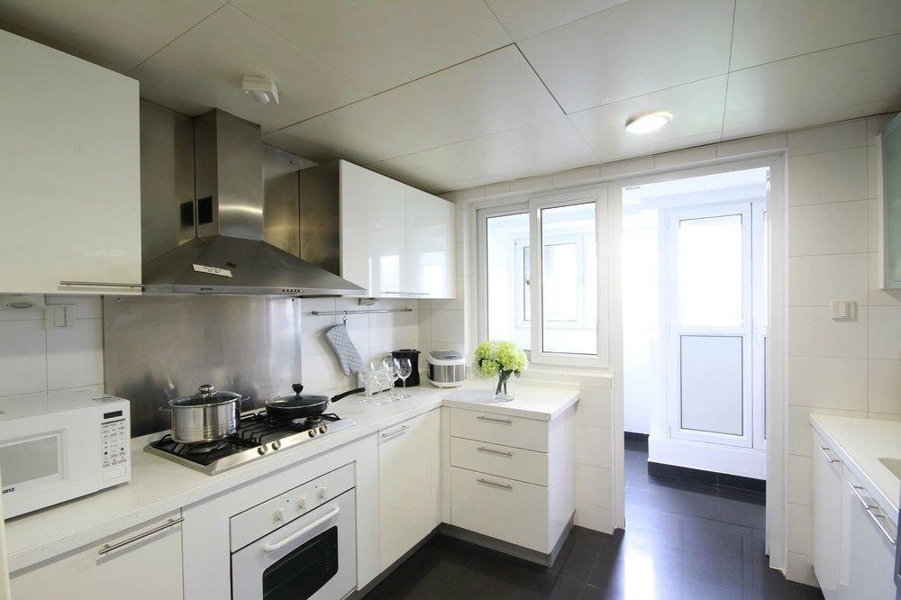 三室两厅现代简约厨房图片