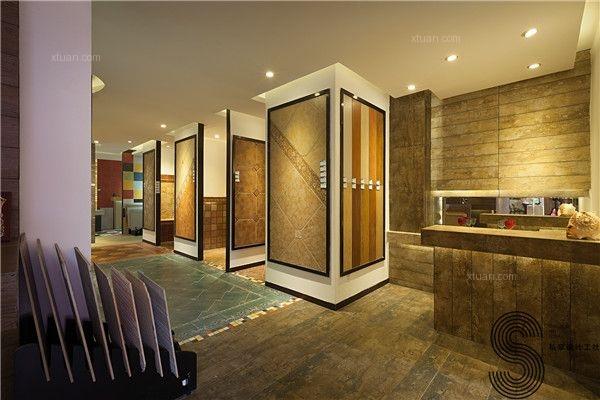成都口碑最好的室内设计公司楼兰陶瓷lola富森美家居北门店图片