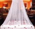 双人床蚊帐图片