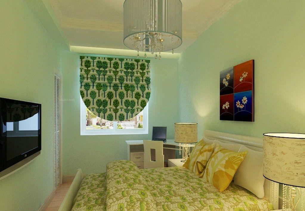 小户型中式风格主卧室