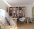 小书房带榻榻米装修效果图