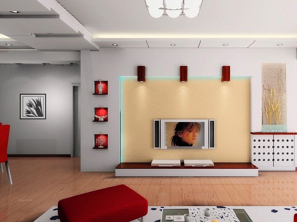 影视墙装修效果图大全2013图片