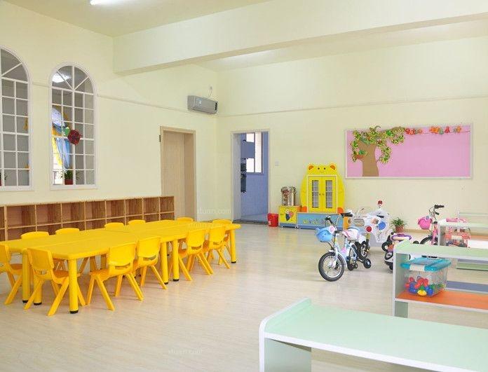 幼儿园教室布置图片装修效果图-x团装修网