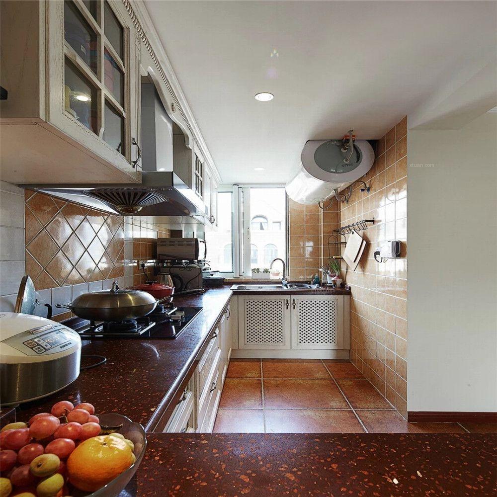 兩居室美式風格廚房開放式廚房