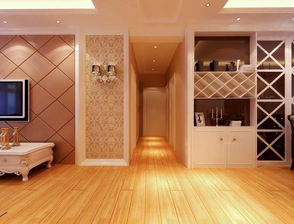 三居室简欧风格 过道 中海寰宇天下 装修效果 图 x团高清图片