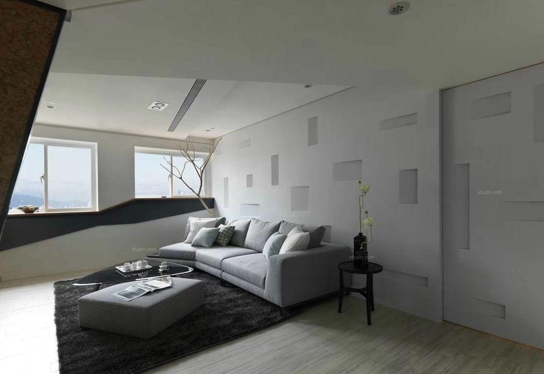 大户型现代风格卧室_天府世家装修效果图-x团装修网