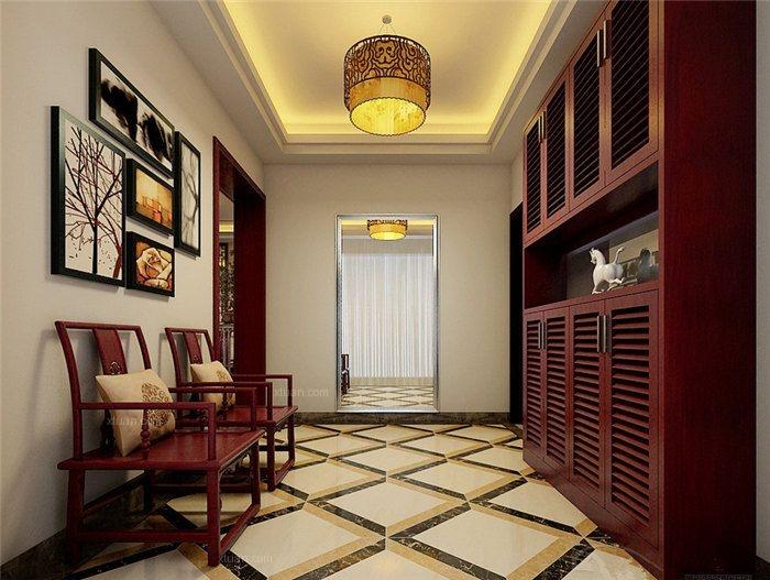 家装中式装修设计倍显温文儒雅