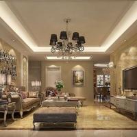 欧式风格-120平米三居室