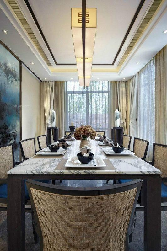 独栋别墅现代简约餐厅