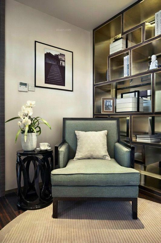独栋别墅现代简约卧室