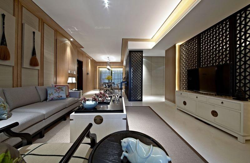 中洲中央公园二期11-B01样板房设计
