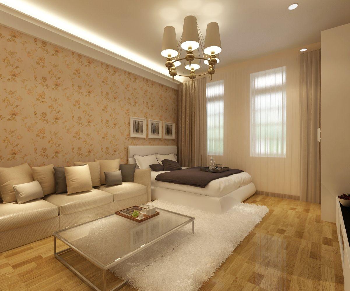 单身公寓简约风格客厅