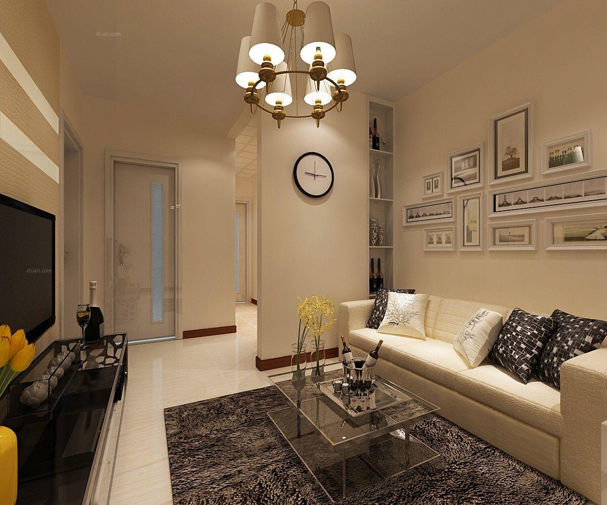 两室一厅简约风格客厅