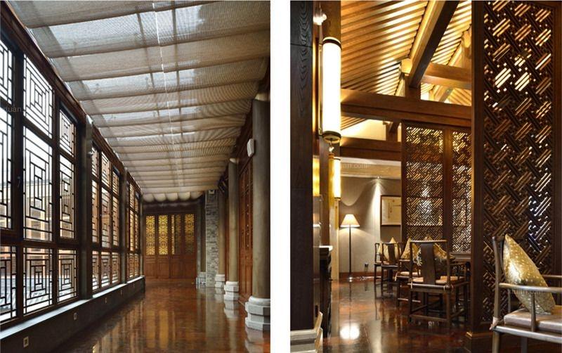 古典四合院会所中式装修设计