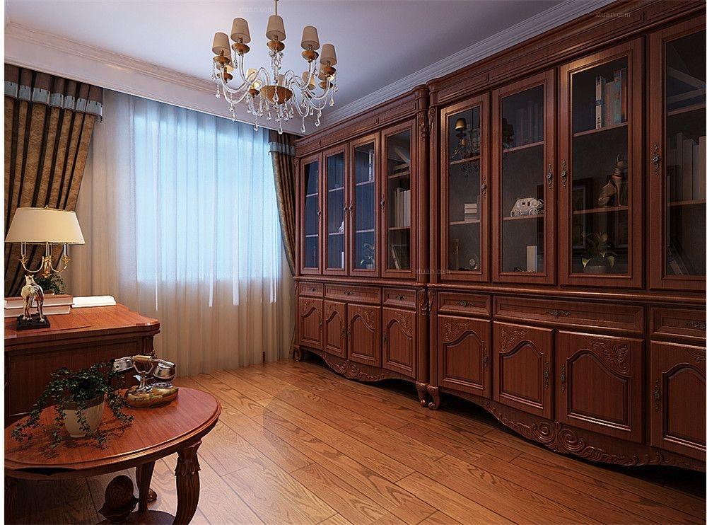 三居室中式风格书房