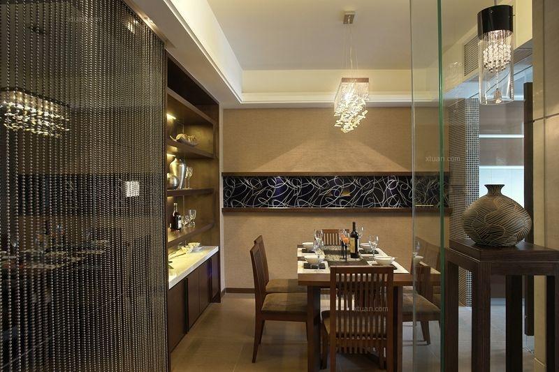 三居室中式风格餐厅