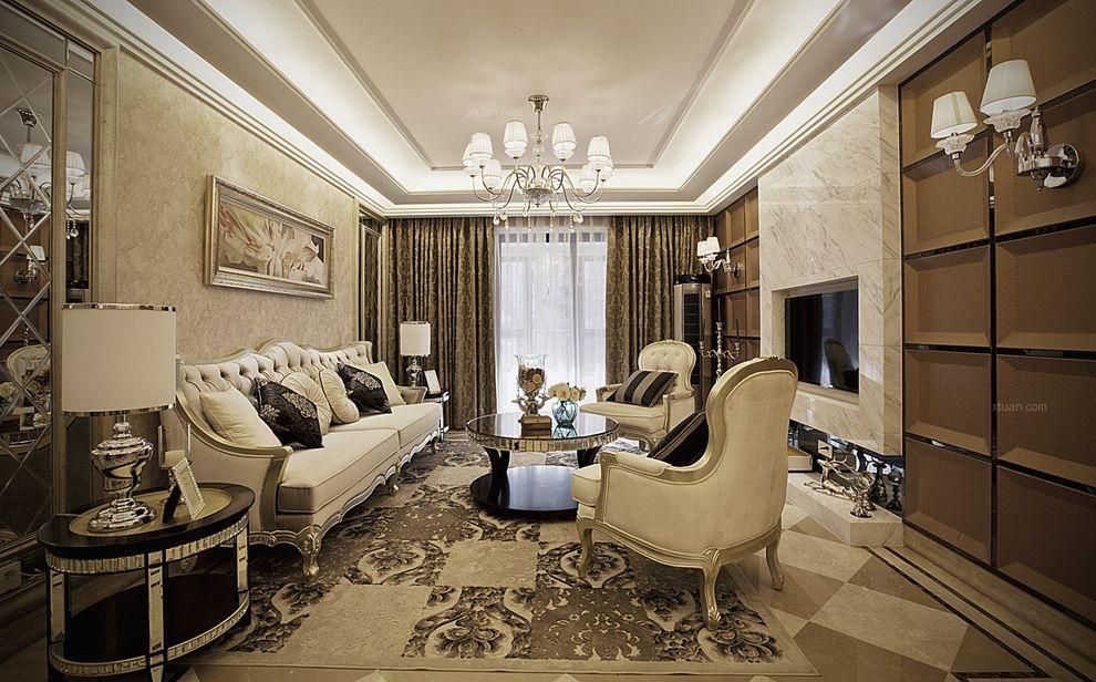 四居室新古典客厅