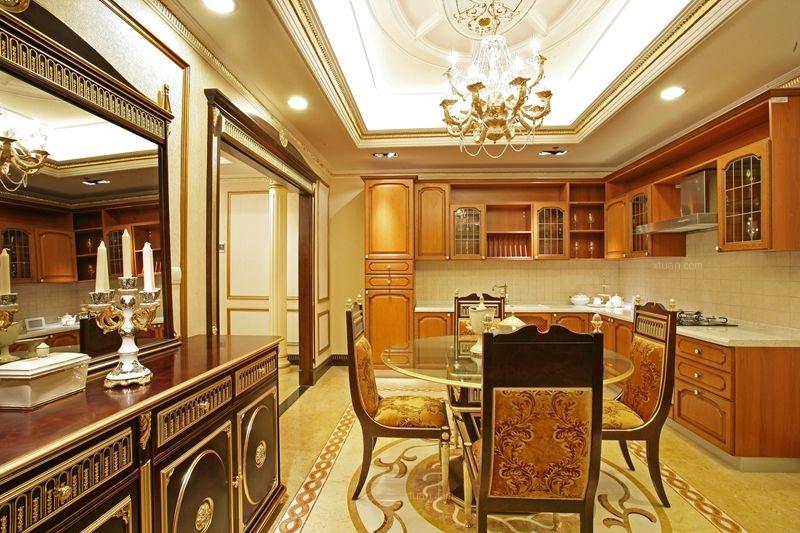 中海城南华府欧式风格装修设计