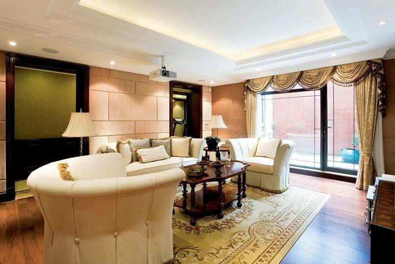 中海城南华府美式风格装修设计